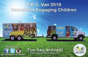 REC Van at Southgate Library