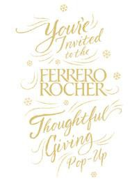 Ferrero Rocher: Give Layers Of Thoughtfulness Pop-Up