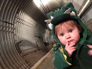 Bunker Buddies Toddler Halloween Hunt