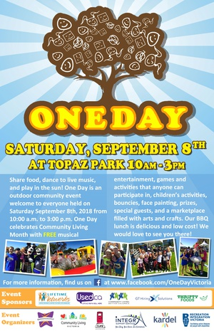 One Day - FREE Community Event