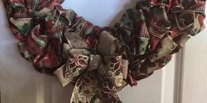 Christmas Ribbon Wreath Workshop