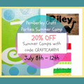 Pemberley Craft Parties's promotion image
