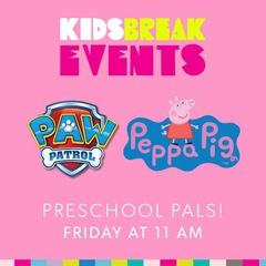 Kids Break Events - Paw Patrol and Peppa Pig