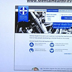 Mental Health Fist Aid training class