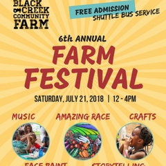 Annual Black Creek Community Farm Festival