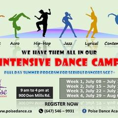 Summer Intensive Dance Camp