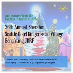 Sheraton Grand Seattle Gingerbread Village