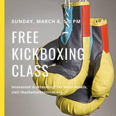 Free Kickboxing Class with Kelly