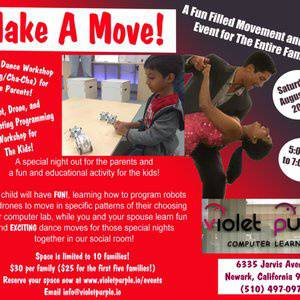 Make A Move! Family Dance (and Robots!) Night!
