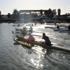 San Rafael Paddle Race - Racing is family fun!