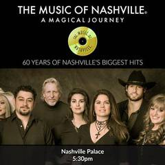 The Music of Nashville® Dinner Show at Nashville Palace