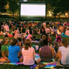Rollin on the River and Movie Night at Fox Hollow Farm