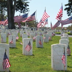 Memorial Day Commemoration in the Presidio