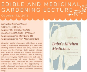 Edible and Medicinal Gardening Lecture