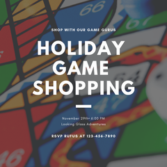 Holiday Shopping with our Games Gurus