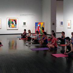 Yoga in the Gallery: Tuesday Night Session