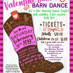 St. Joseph the Worker Parish Valentine Dinner and Barn Dance