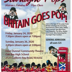 "Starlight Pops presents ""Britain Goes POP!"""