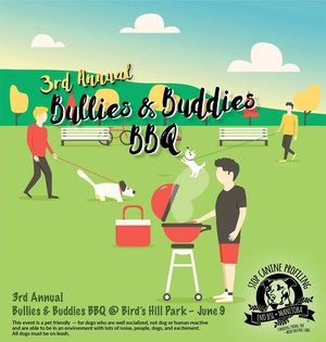3rd Annual Bullies & Buddies BBQ