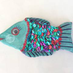 Preschool Picasso: Rainbow Fish!