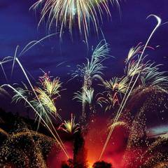 Firework Saturdays at Butchart Gardens