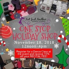 NJADS One Stop Holiday Shop!