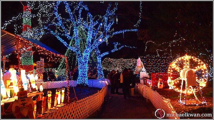 Vancouver Christmas Lights.Vancouver Christmas Lights