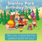 Birthday Train Stanley Park Railway