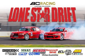 Super Lap demo at Circuit of the America with Lone Star Drift