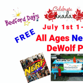 All Ages Nerf Battle - Bedford Days - Kids Canada Day Party