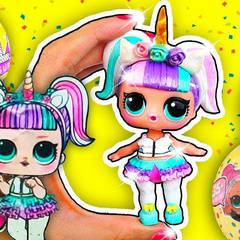 Family Night Out: LOL Doll Party