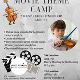 Violin Movie Theme Camp