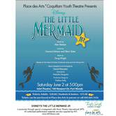 Place des Arts' Coquitlam Youth Theatre Presents Disney's The little Mermaid Jr