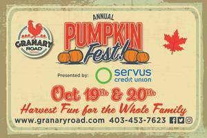 Pumpkin Fest presented by Servus Credit Union