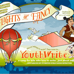 YouthWrite®, camps for kids who love to write...just about anything!©
