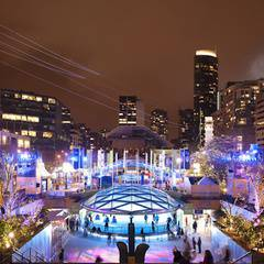 Free Ice Skating at Robson Square
