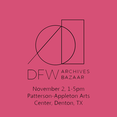 DFW Archives Bazaar