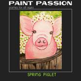 Spring Piglet Paint Party