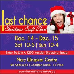 Last Chance Christmas Craft Show 2019
