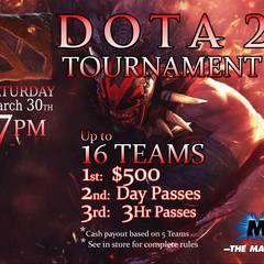 DOTA 2 Video Game Tournament