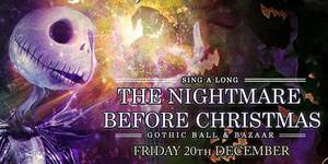 The Nightmare Before Christmas Gothic Ball & Bazaar