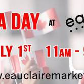 Canada Day at Eau Claire Market