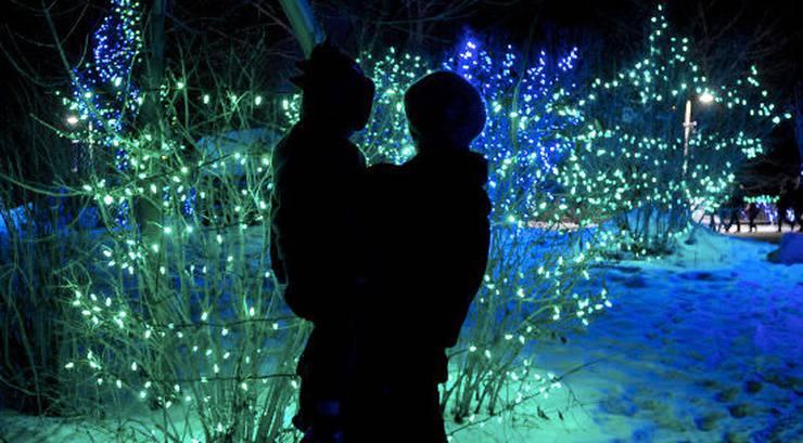 christmas lights calgary - Strobe Christmas Lights