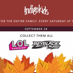 Make it an Indigo Weekend: L.O.L and Beyblades