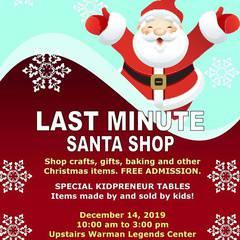 Last Minute Santa Shop