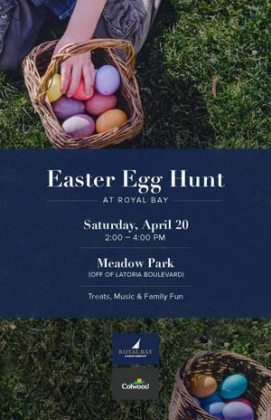 Easter Egg Hunt in Royal Bay