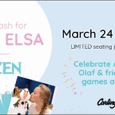 Easter Birthday Bash for Anna and Elsa of Frozen