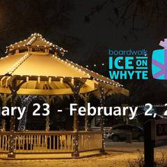 Boardwalk Ice on Whyte Festival