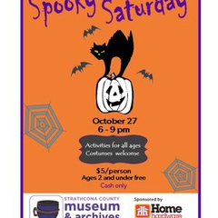 Spooky Saturday at the Strathcona County Museum