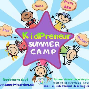 Summit Kidrepreneur Program's promotion image